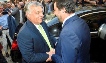"""Orbán a Salvini: """"Taliansko, Maďarsko, Rakúsko a Poľsko zachránia Európsku úniu."""""""