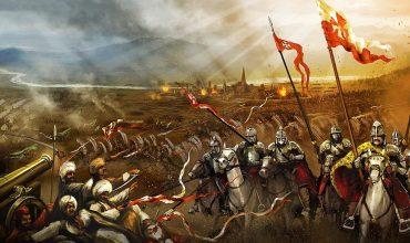 S víťazným Krížom v ruke proti tureckej presile