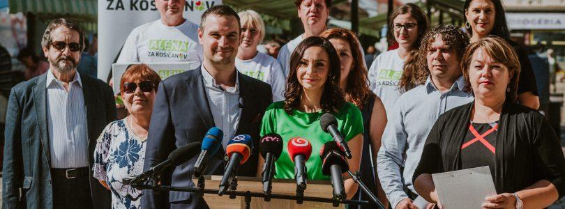 Bašistová: Košice nepotrebujú primátora, ktorého budú riadiť politici z Bratislavy