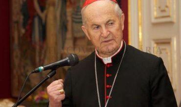 Vianočný pozdrav slovenského kardinála Jozefa Tomka z Vatikánu