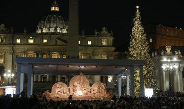 Pápež odhalil krásne jasličky, ktoré už nevzbudzujú pohoršenie veriacich