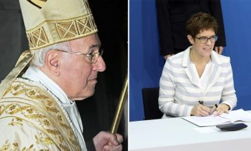 """Novú predsedkyňu CDU považuje kardinál Brandmüller za """"exkomunikovanú heretičku"""""""