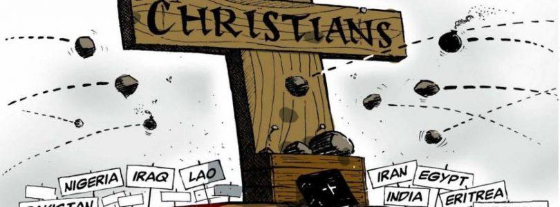 Z piatich prenasledovaných ľudí na svete sú štyria kresťania. Britská vláda za genocídu viní politikov Západu.