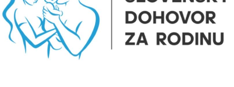Slovenský dohovor za rodinu vydal zásadné stanovisko