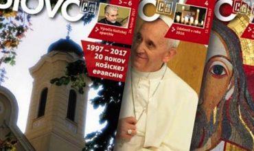 Gréckokatolícky časopis Slovo oslavuje 50 výročie