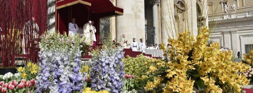 Program slávení pápeža na Pôst a Veľkú noc 2019