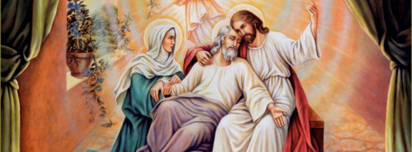 Akou smrťou zomrel sv. Jozef keď je patrónom šťastnej smrti?