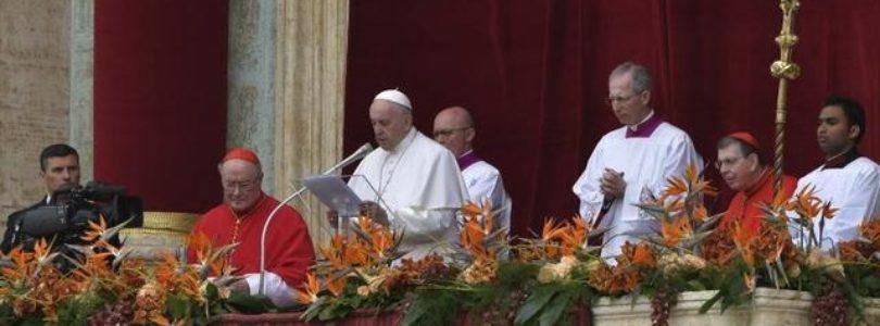 Príhovor Urbi et orbi pápeža Františka