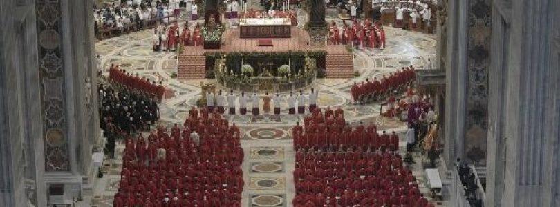 Homília pápeža Františka: Peter a Pavol – svedkovia Ježiša, jeho života a odpustenia