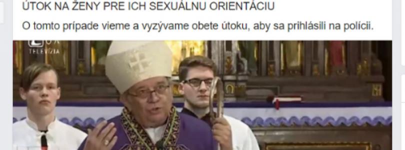 Škandál: Polícia zverejnila fotku arcibiskupa Oroscha pri nenahlásenom prípade násilnej trestnej činnosti