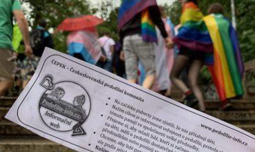 """Pedofili pochodovali na Dúhovom pochode v Prahe: """"Sme tiež len menšinou a chceme svoje práva"""""""